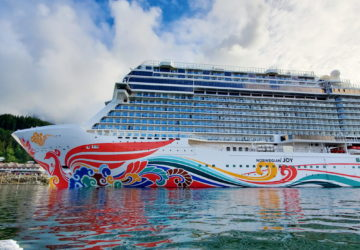 Norwegian cruise ship