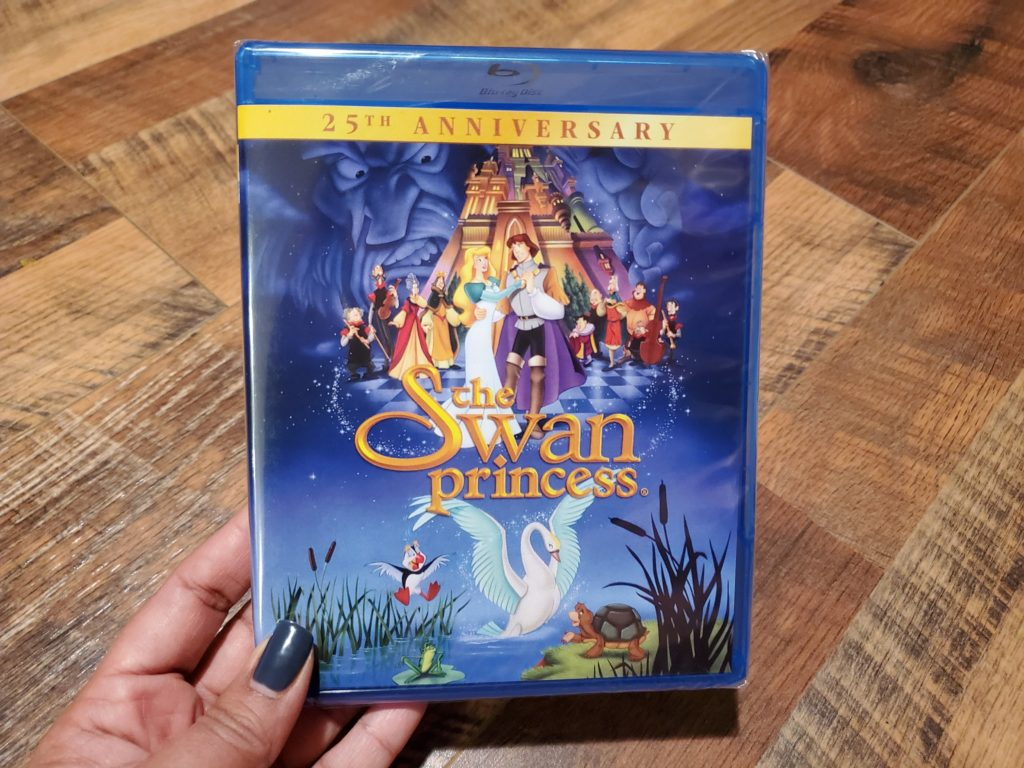 The Swan Princess DVD