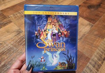 The Swan Princess DVD