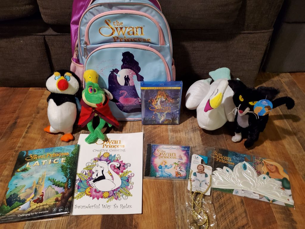 The Swan Princess Products