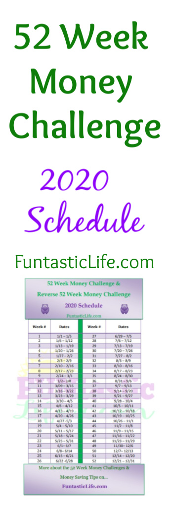 52 Week Money Challenge Image