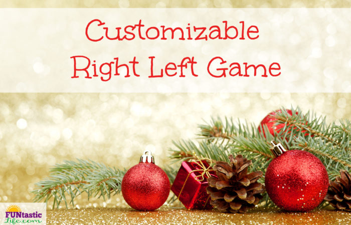 Customizable Right Left Game