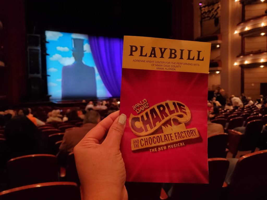 Charlie and the Chocolate Factory Playbill