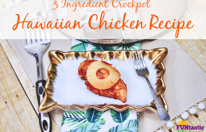 3 Ingredient Crockpot Hawaiian Chicken Recipe