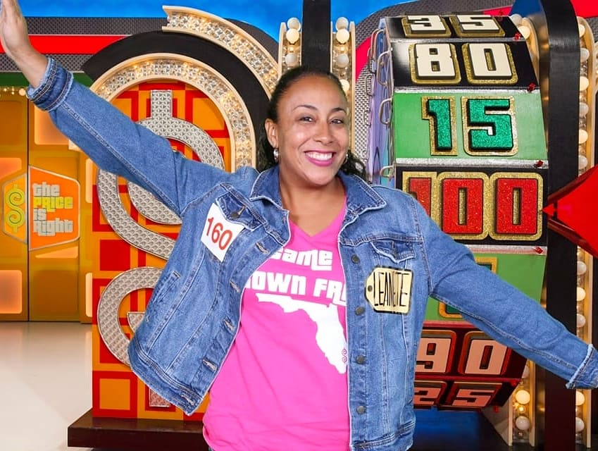 Female at the Price Is Right