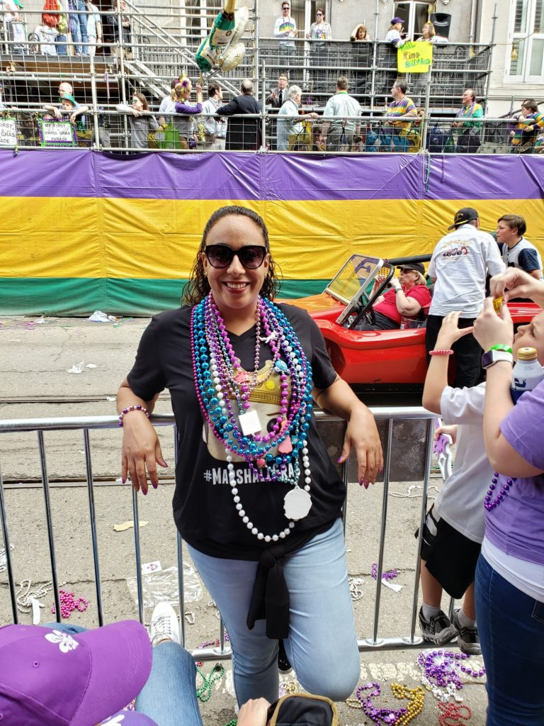 Woman in New Orleans