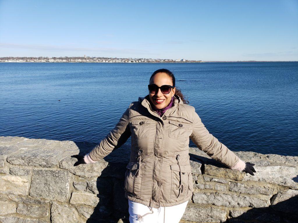 Woman in Rhode Island