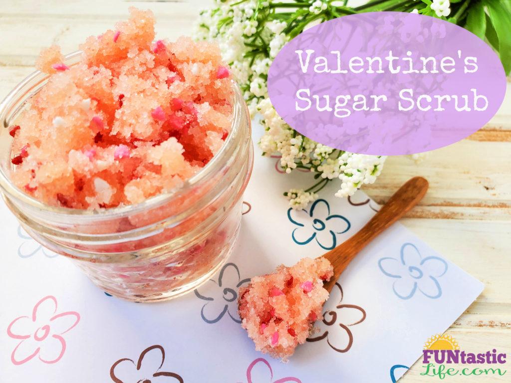 Valentine's Day Sugar Scrub