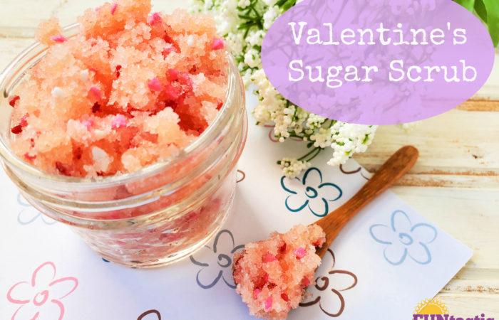 Valentine's Sugar Scrub (DIY)
