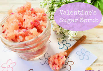 Valentine's Day Sugar Scrub