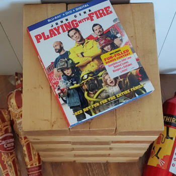 Playing With Fire Bonus Features & Movie Night Fun