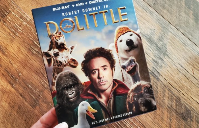 Dolittle Blu-ray Giveaway