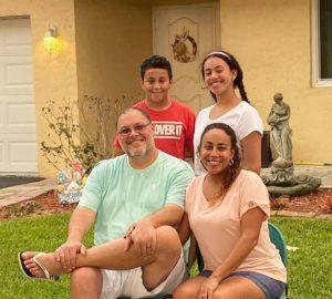 Fernandez Family on Easter