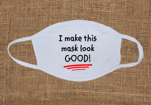 I make this mask look good