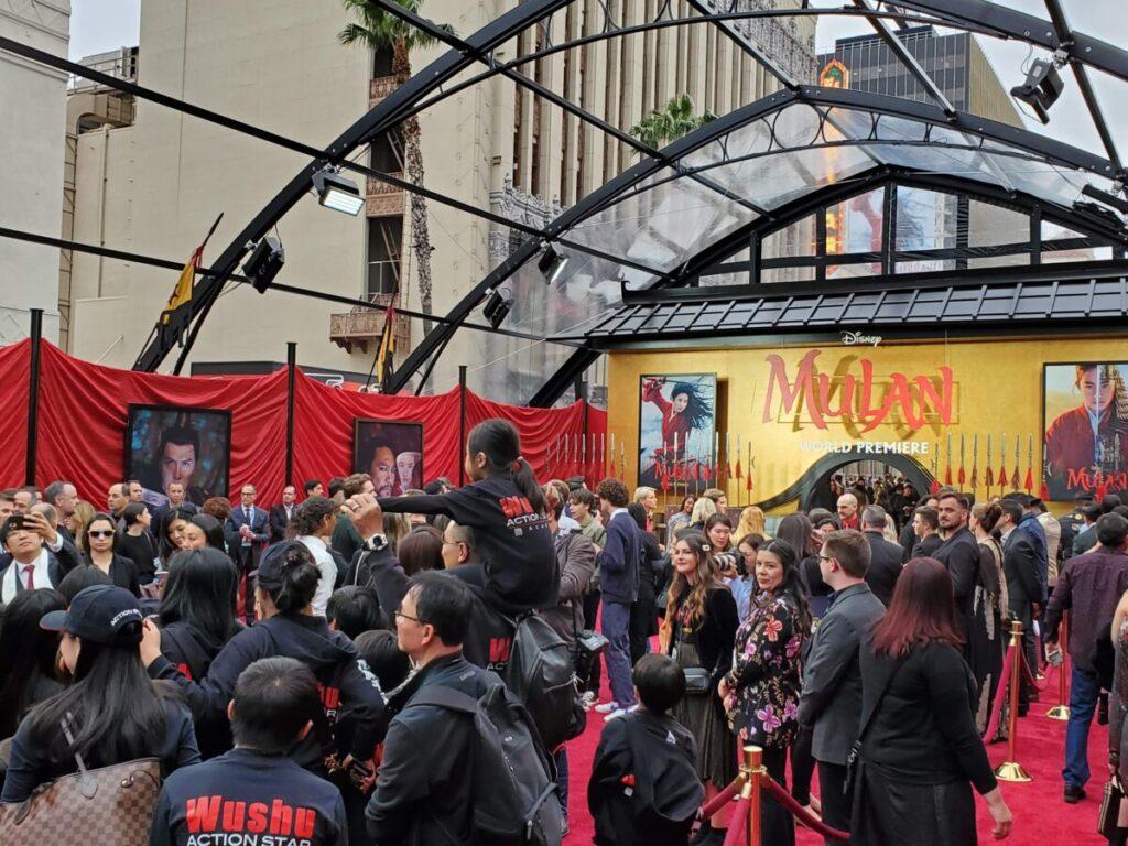Mulan Red Carpet Event
