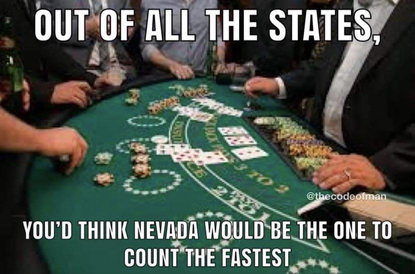 Nevada Counting Ballots Meme