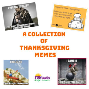A Collection of Thanksgiving Memes