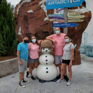 Family pic at SeaWorld