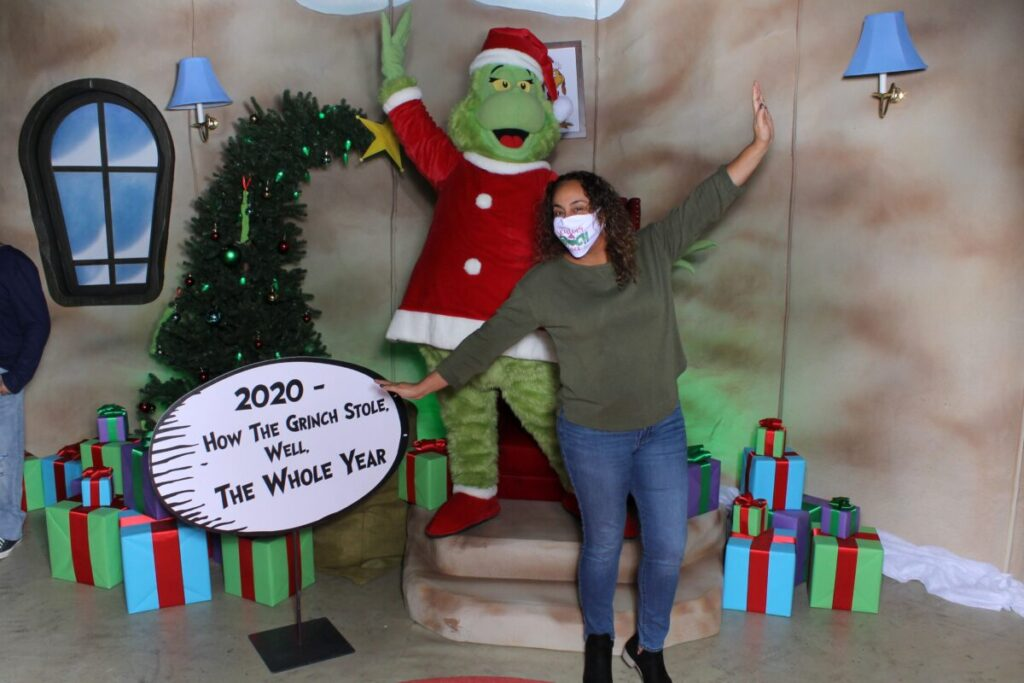 Leanette and the Grinch