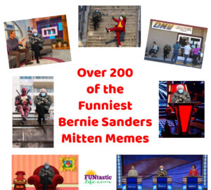 Collection of Bernie Sanders Mitten Memes