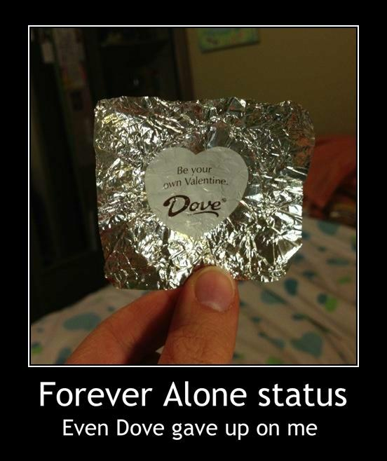 Dove chocolate Valentine's Day Meme