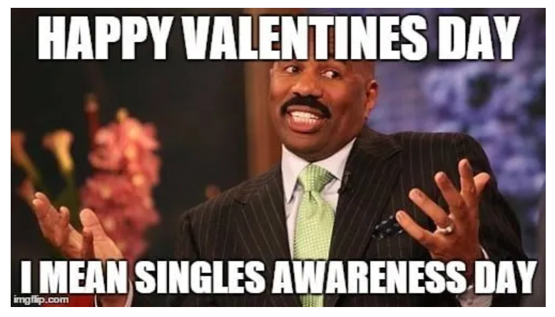 steve harvey Valentine's Day Meme