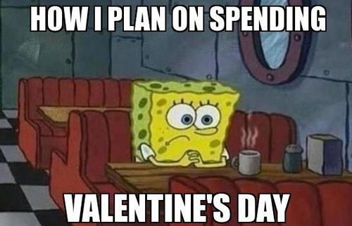 spongebob Valentine's Day Meme