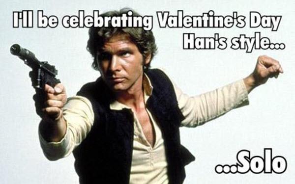 star wars Valentine's Day Meme