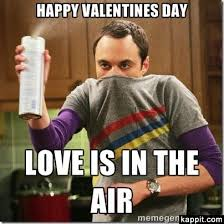 big bang theory Valentine's Day Meme