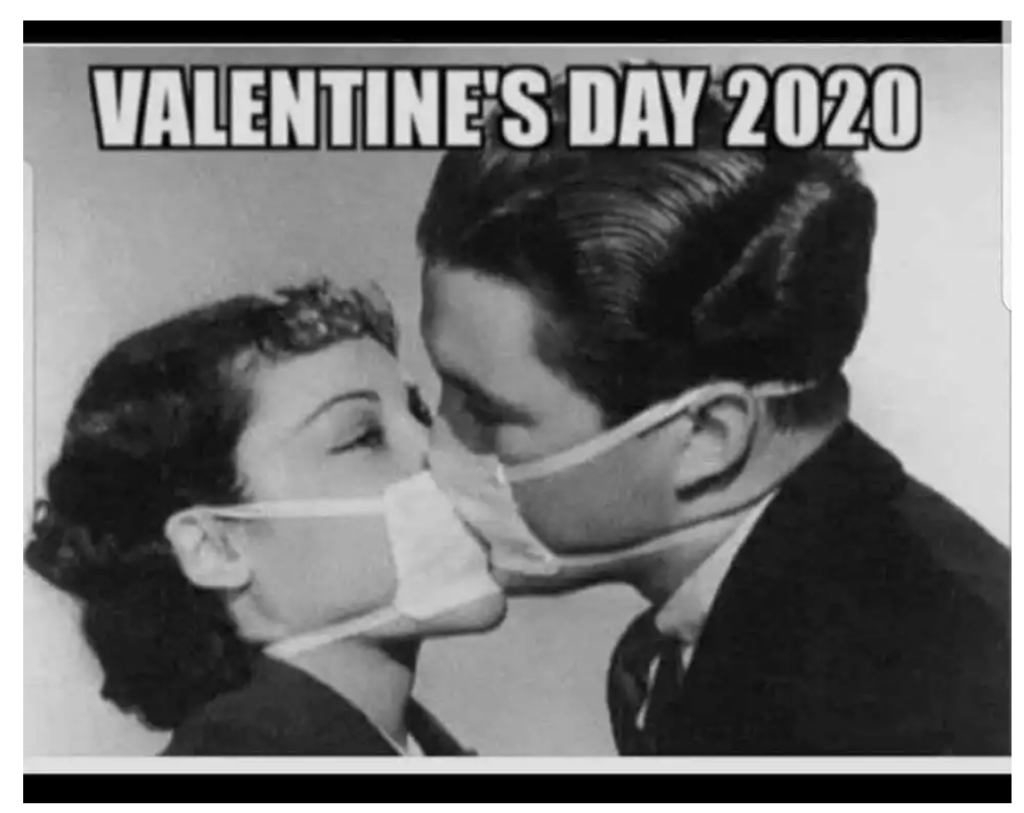 pandemic Valentine's Day Meme