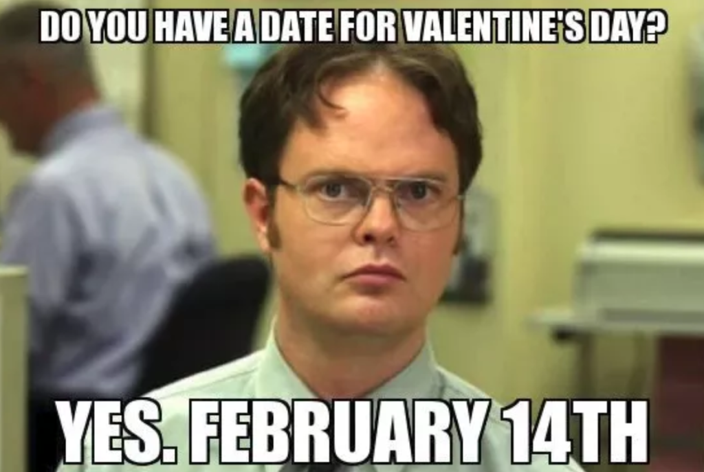 the office Valentine's Day Meme