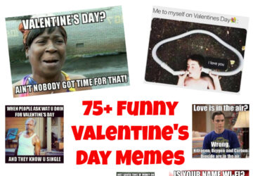 Valentine's Day Memes Collage