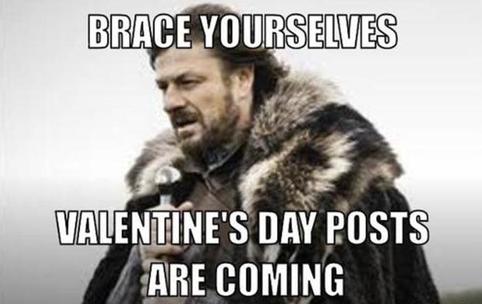Game of thrones Valentine's Day Meme