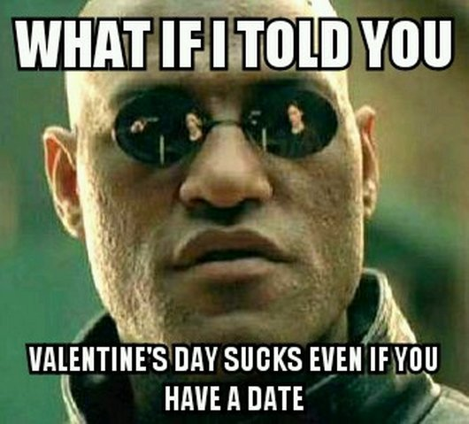 Matrix Valentine's Day Meme