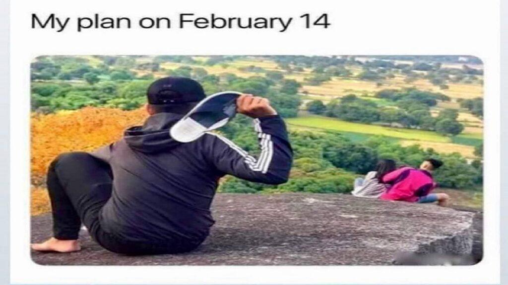 sandal Valentine's Day Meme