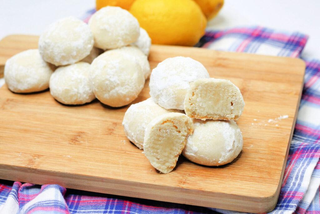 Lemon Snowball Cookies