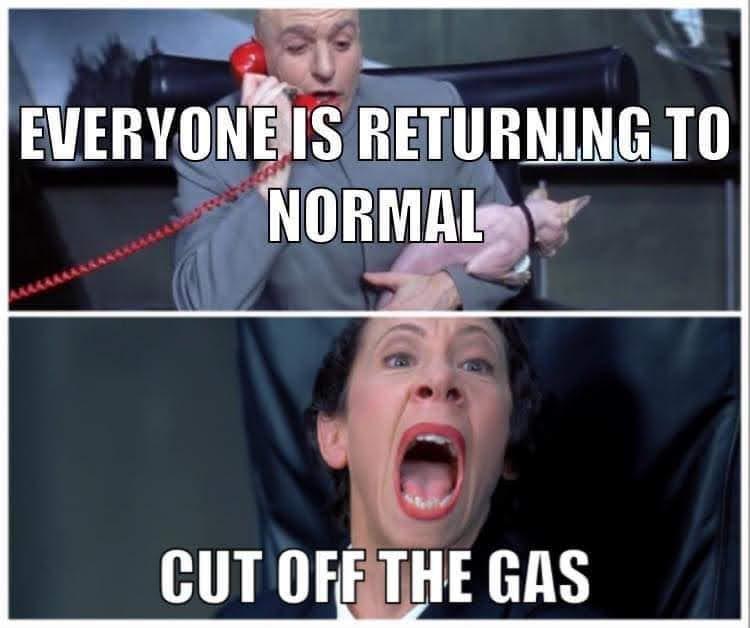 Gas Shortage Meme
