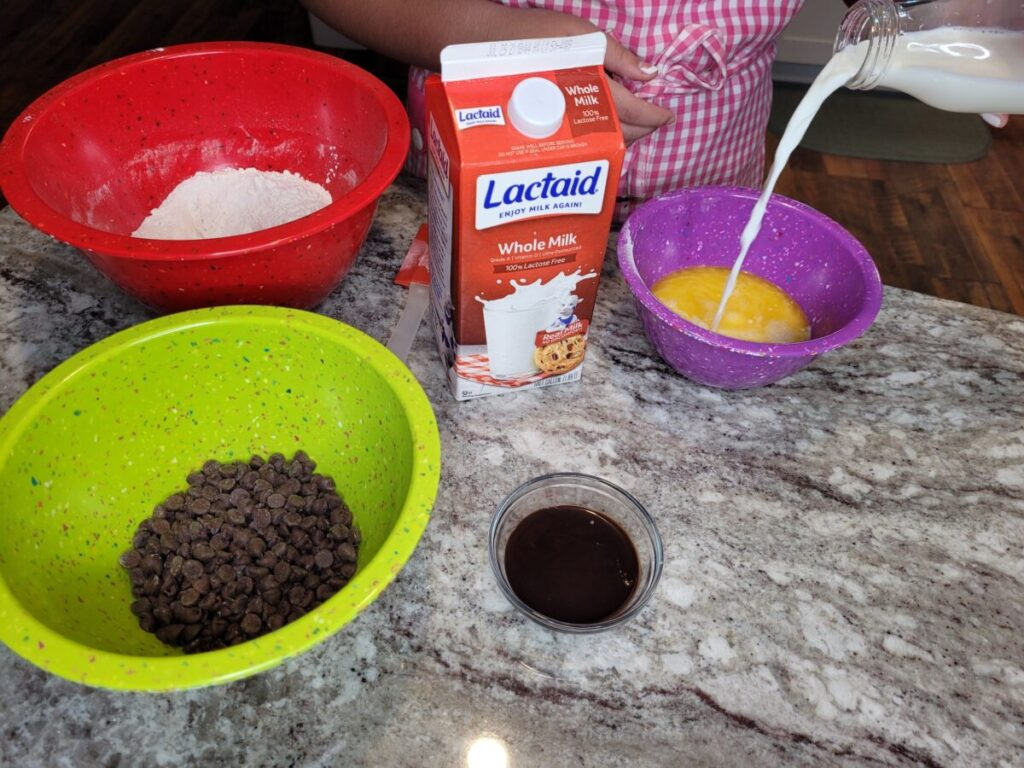 Lactose Free Double Chocolate Chip Muffins Directions