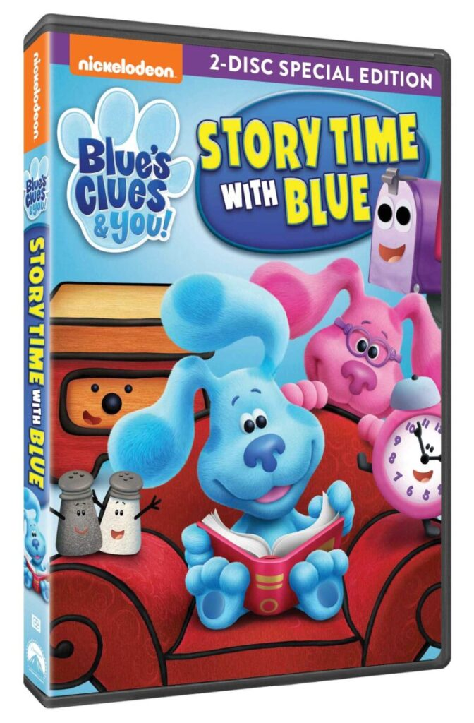 Blue's Cljues DVD